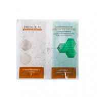 Суперальгинатная маска PREMIUM Формула чистой кожи с молодым томатом 20г+60мл: фото