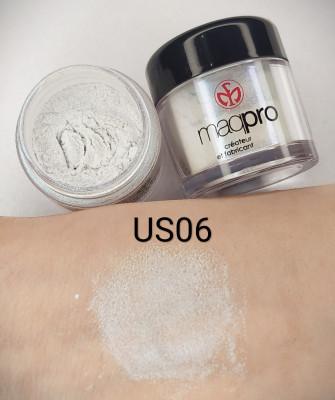 "Пигмент Maq Pro Star Powder ""бело-бирюзовый"" US06: фото"