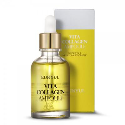 Сыворотка ампульная витаминная с коллагеном EUNYUL Vita Collagen Ampoule, 30мл,: фото
