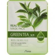 Тканевая маска с зеленым чаем Juno JLuna, 25мл: фото