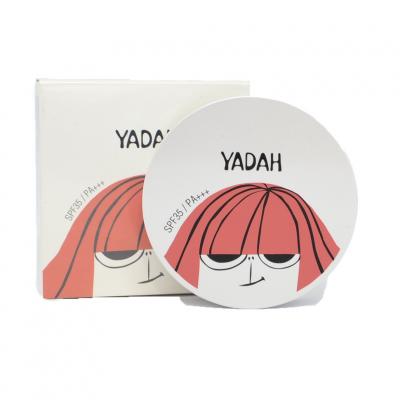 Пудра для лица компактная YADAH AIR POWDER PACT 21 NATURAL BEIGE 9гр