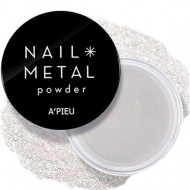 Пудра для ногтей A'PIEU Nail Metal Powder (Silver): фото