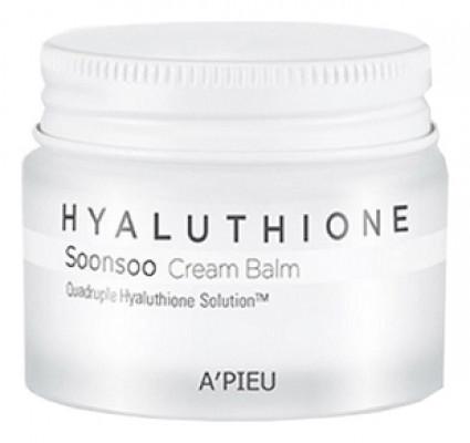 Крем-бальзам глубокоувлажняющий A'PIEU Hyaluthione Soonsoo Cream Balm 50мл: фото