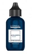 Макияж для волос L'Oréal Professionnel COLORFUL HAIR FLASH FEELING BLUE Синее настроение 60мл: фото
