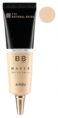 Крем ББ увлажняющий A'PIEU BB Maker SPF30/PA++ (Moisture/Light Beige)