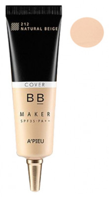 Крем ББ тонирующий A'PIEU BB Maker SPF35/PA++ (Cover/Natural Beige) 20гр