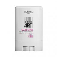 Стик для гладкости и блеска волос L'Oréal Professionnel Techi.art GLOW STICK 10мл: фото