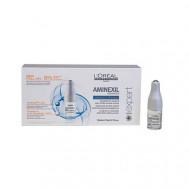Ампулы против выпадения волос L'Oréal Professionnel Aminexil Advanced 10*6мл: фото