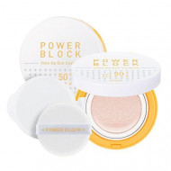 Тональная основа A'PIEU Power Block Tone Up Sun Cushion SPF50+/PA++++: фото