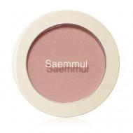 Румяна THE SAEM Saemmul Single Blusher CR01 Naked Peach 5гр: фото