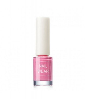 Лак для ногтей The Saem Nail Wear 02_ Fashionking Pink 7мл