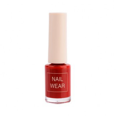 Лак для ногтей The Saem Nail Wear 07. Red show 7мл