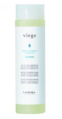 Шампунь восстанавливающий для волос и кожи головы Lebel VIEGE SHAMPOO 240мл: фото