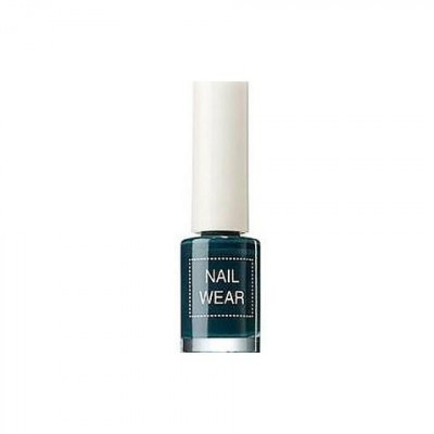 Лак для ногтей The Saem Nail Wear 27_ Deep kaki 7мл