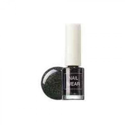 Лак для ногтей The Saem Nail Wear #51_Space Black 7мл