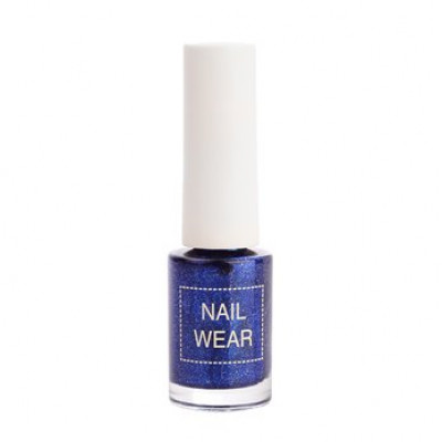 Лак для ногтей The Saem Nail Wear #52. Passion powerblue 7мл