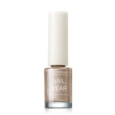 Лак для ногтей The Saem Nail Wear #57.Prism beige 7мл