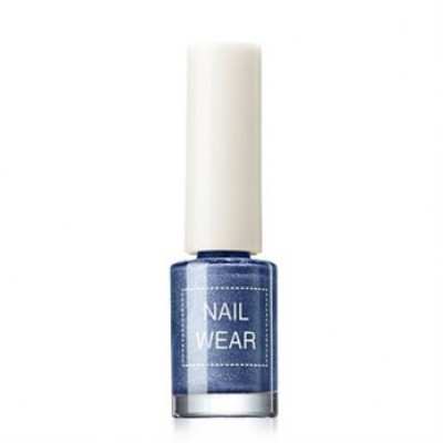 Лак для ногтей The Saem Nail Wear #62. Prism blue 7мл