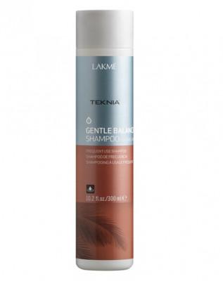 Шампунь для частого применения для нормальных волос LAKMÉ GENTLE BALANCE SULFATE-FREE SHAMPOO 300мл: фото