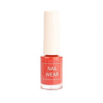 Лак для ногтей The Saem Nail Wear 81. Retro wine 7мл