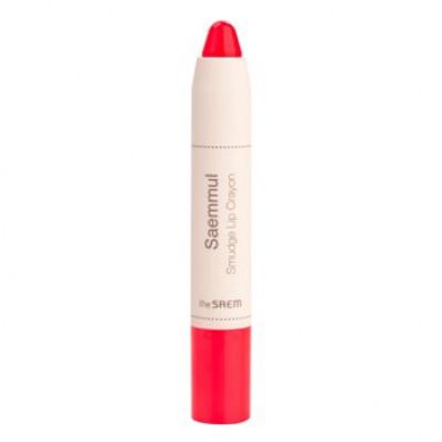 Карандаш-помада для губ THE SAEM Saemmul Smudge Lip Crayon PK02 3,5гр