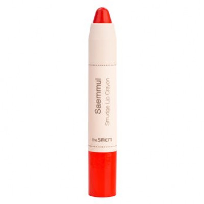 Карандаш-помада для губ THE SAEM Saemmul Smudge Lip Crayon OR02 3,5гр