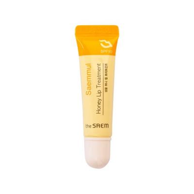 Помада-бальзам для губ питательная THE SAEM Saemmul Honey Lip Treatment SPF10 10мл