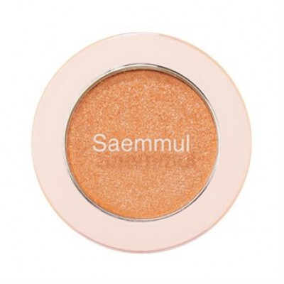 Тени для век с глиттером THE SAEM Saemmul Single Shadow (Glitter) OR04 1,6гр
