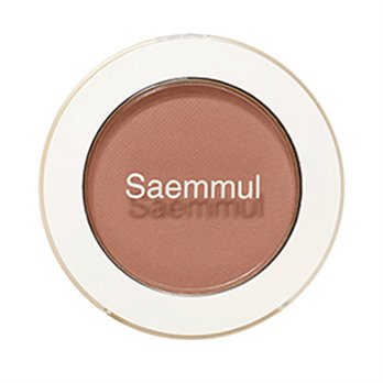 Тени для век матовые THE SAEM Saemmul Single Shadow matte BR17 Emotional Brown 1,6гр: фото