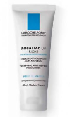 Крем увлажняющий для сухой кожи, склонной к покраснениям UV Риш La Roche-Posay Rosaliac 40мл: фото