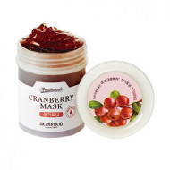 Маска для лица с фруктовыми кислотами SKINFOOD FRESH MADE CRANBERRY MASK 90мл: фото