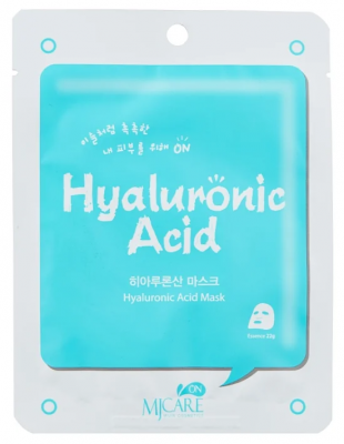 Маска тканевая с гиалуроновой кислотой Mijin MJ on Hyaluronic Acid mask pack 22гр