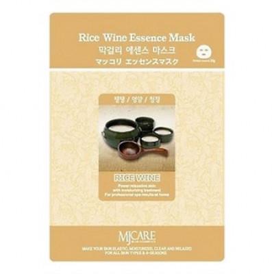 Маска тканевая Макколе рисовое вино Mijin Makgeolli Essence Mask 23гр: фото
