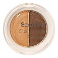 Тени для век двойные THE SAEM Saemmul Dual Combo Shadow 02 OK Orange 1,4гр*2: фото