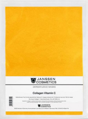 Коллагеновая биоматрица с витамином C Janssen Cosmetics Collagen Vitamin C 1лист: фото