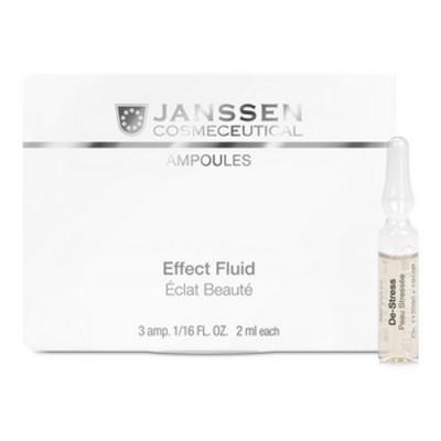 Концентрат ампульный Антистресс для чувствительной кожи Janssen Cosmetics De-Stress 3*2мл: фото