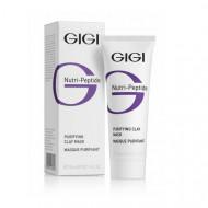 Маска пептидная очищающая глиняная для жирной кожи GIGI Nutri-Peptide 50 мл: фото