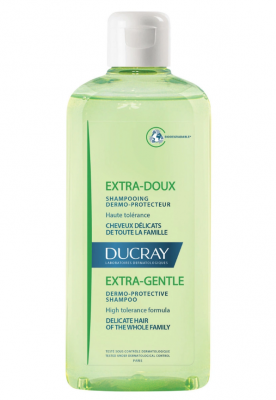Шампунь защитный, для частого применения Ducray Extra-doux Shampooing dermo-protecteur 200мл: фото