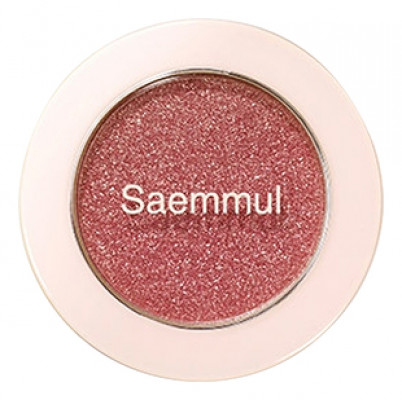 Тени для век с глиттером THE SAEM Saemmul Single Shadow(Glitter) RD03 1,6гр