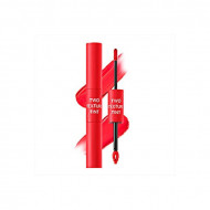 Тинт для губ двойной THE SAEM Two Texture Tint RD01 Half&Half Red 8гр: фото