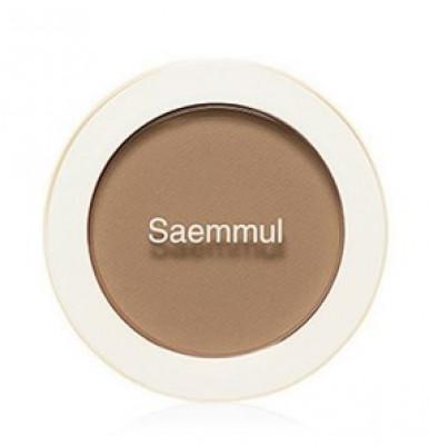 Румяна THE SAEM Saemmul Single Blusher BR03 Cloudy Brown 5гр