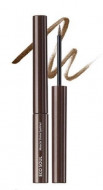 Подводка для глаз сияющая THE SAEM Eco Soul Miracle Shine Eyeliner BR01 Deep Brown 2,7мл: фото