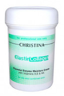 Крем увлажняющий для жирной кожи CHRISTINA Elastin Collagen Placental Enzyme Moisture Cream with Vit. A, E & HA 250 мл: фото
