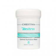 Маска оптимальная увлажняющая, шаг 8 CHRISTINA Unstress: Optimal Hydration Mask 250 мл: фото