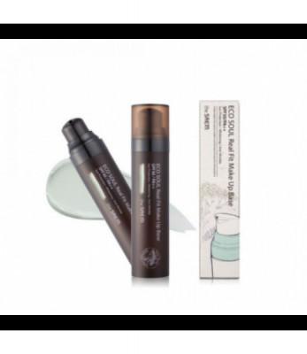 База под макияж THE SAEM Eco Soul Real Fit Makeup Base 01 Green 40мл