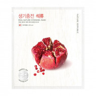 Маска для лица гидрогелевая NATURE REPUBLIC REAL NATURE POMEGRANATE HYDROGEL MASK 22г: фото