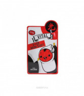 Маска тканевая витаминная Baviphat Urban Dollkiss 3-GO Mask Sheet_vital 25гр: фото