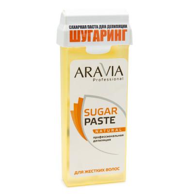 Паста сахарная для депиляции в картридже Натуральная, мягкой консистенции Aravia Professional 150г: фото