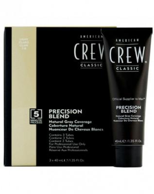 Камуфляж для седых волос American Crew PRECISION BLEND Блондин 7/8, 3*40мл: фото