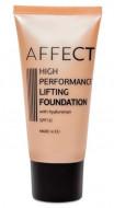 Тональный крем увлажняющий AFFECT High Performance Lifting Foundation SPF10, 0002 30мл.: фото